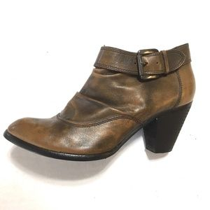 Rare ALDO Ankle Booties - Patina Leather - 7.5